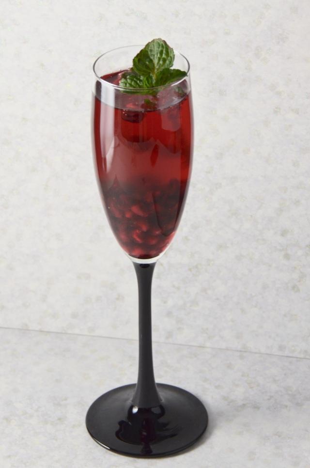 Holiday Pom-Pom Cocktail