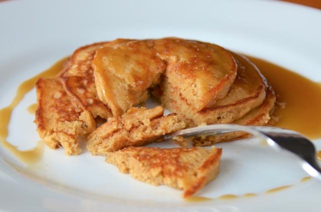 Sticky Toffee Pancakes