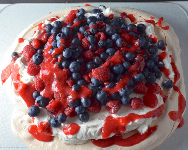 Very Berry Pavlova