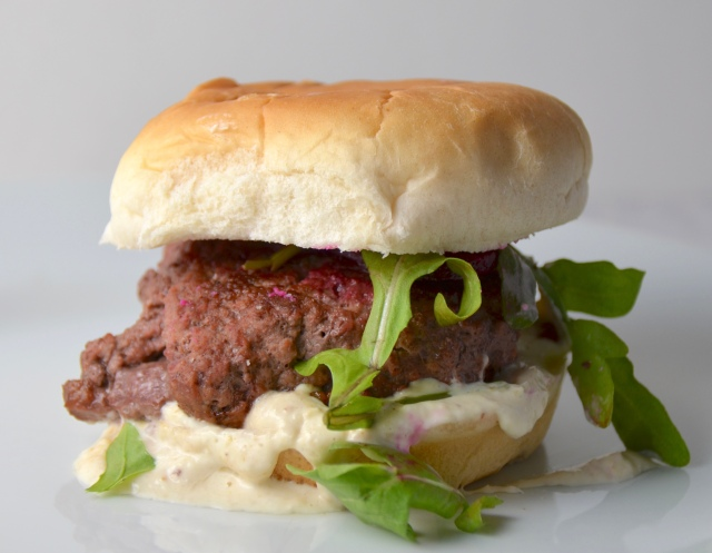 Beef And Beet Burgers