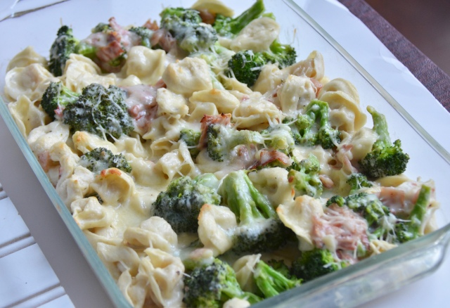 Bacon Tortellini Bake