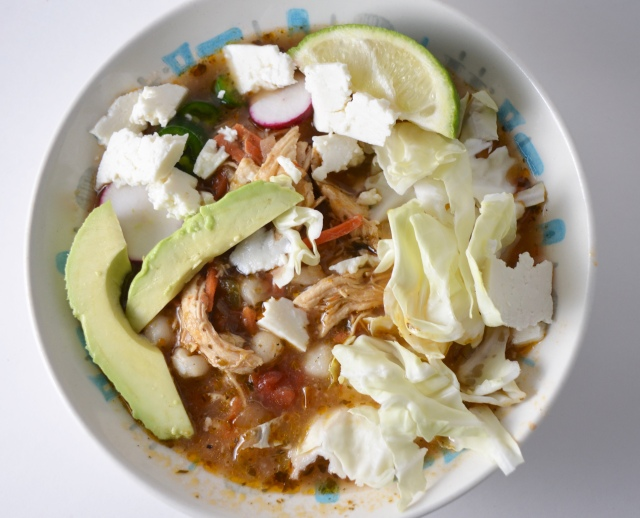 Green Chile Turkey Posole
