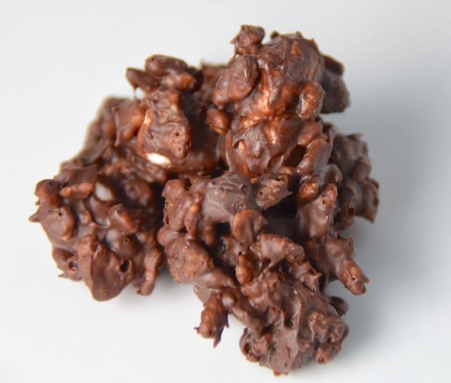 Crispy Chocolate Clusters