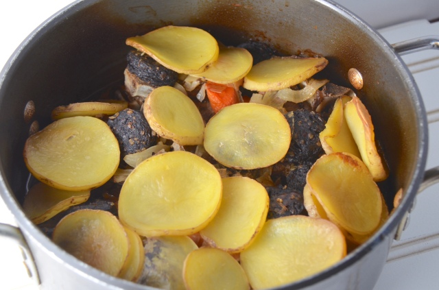 Lamb, Black Pudding And Mustard Hotpot
