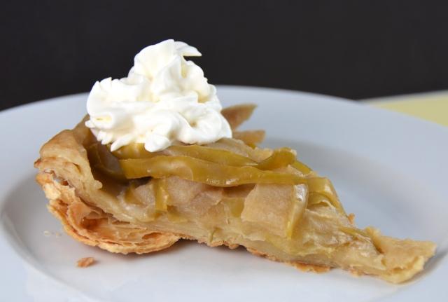 Salted Honey And Apple Tarte Tatin