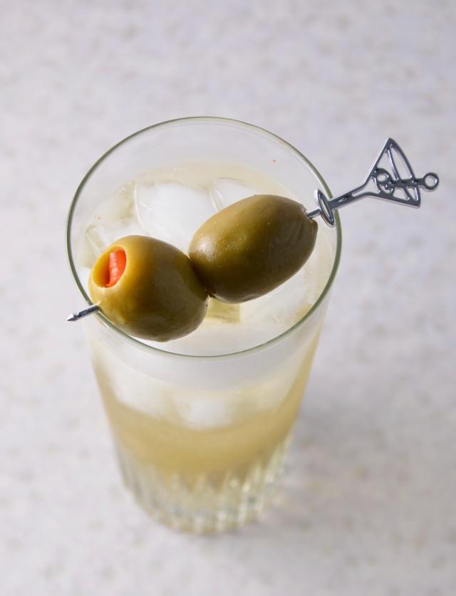 Upside-Down Martini