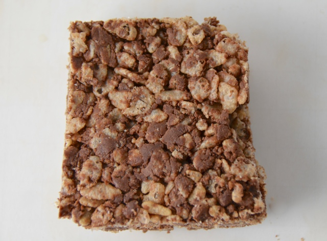 Fluff Chocolate Crispy Rice Treats