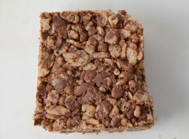 Fluff Chocolate Crispy Rice Treats