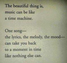 music time machine