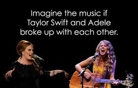 taylor swift and adele