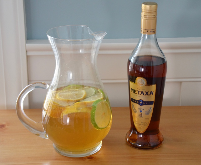 Greek White Sangria