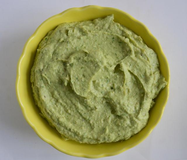 Lime Avocado Hummus
