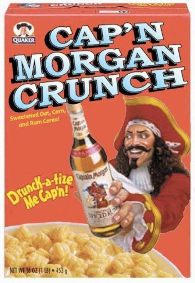 capn morgan crunch