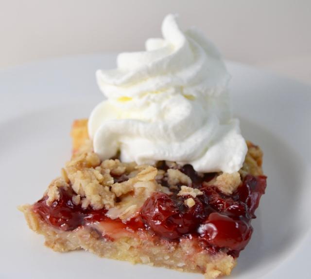 Cherry Cream Crunch