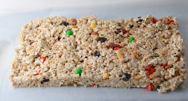 No-Bake Cereal Cookie Bars