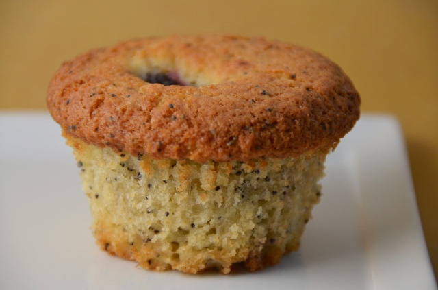 Blackberry Poppy Seed Muffins