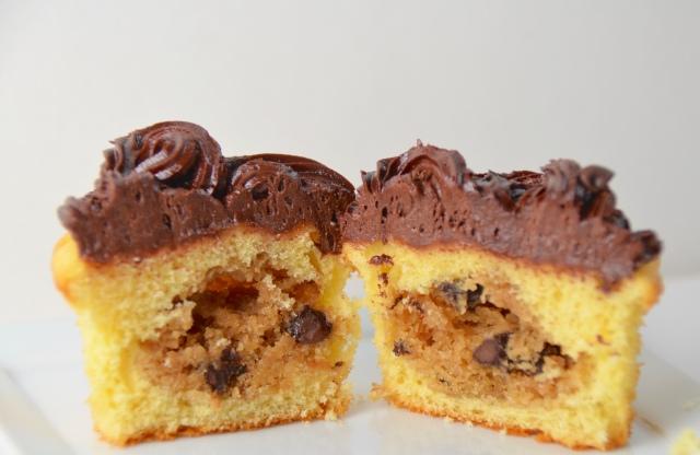Cookie Dough Cupcakes