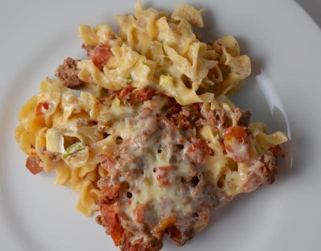 Beef Lombardi Casserole