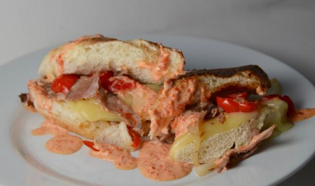 Peppadew Steak Sandwiches