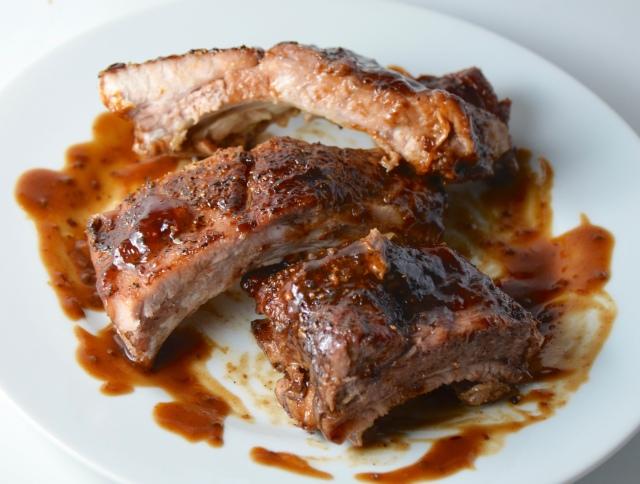 Glazed BBQ Ribs