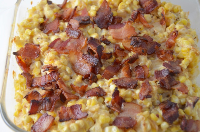 Corn And Bacon Casserole