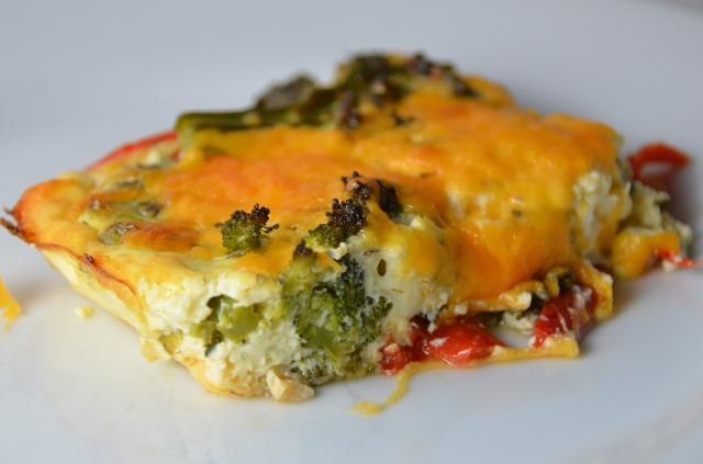 Veggie Cheese Squares