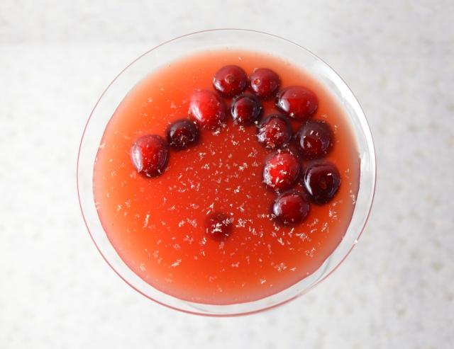Cranberry Cobbler Cocktail