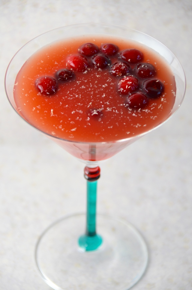 Cranberry Cobbler Cocktail