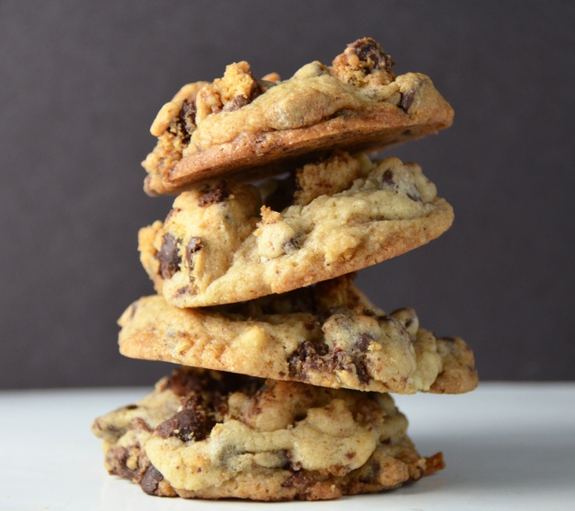 Chocolate Chip Cookies Baked In Chocolate Chip Cookies