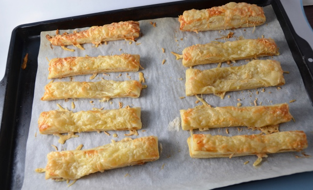 Gruyère And Mustard Batons