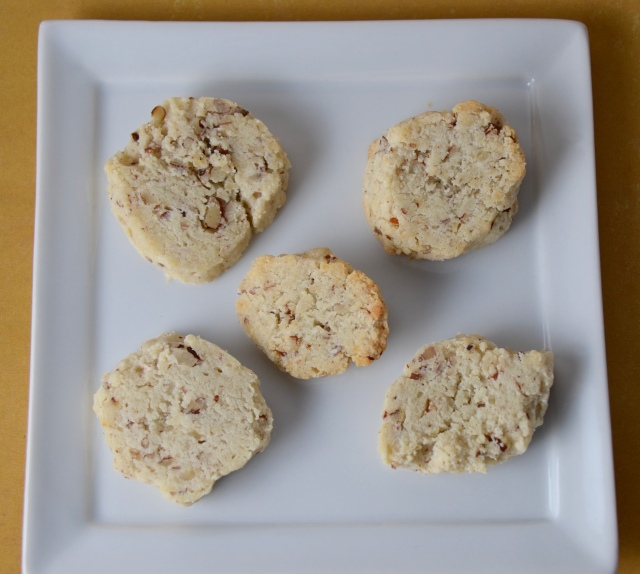 Blue Cheese Pecan Wafers