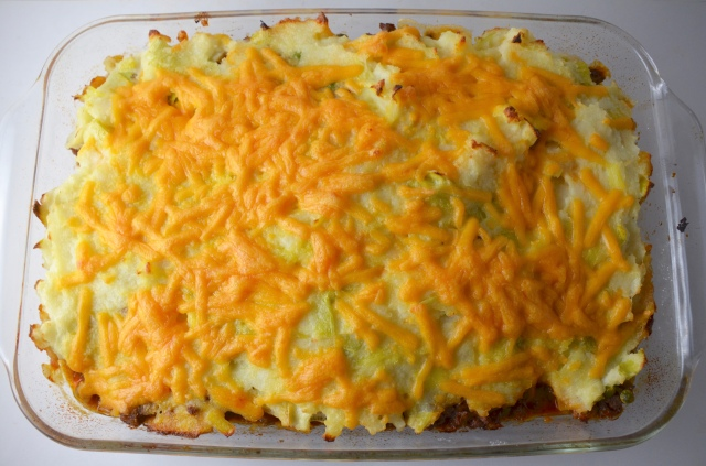 Beef And Lamb Shepherd's Pie