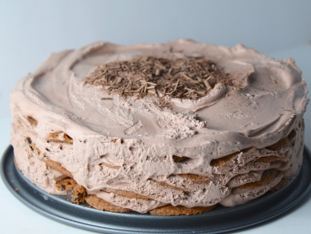 Mocha Chocolate Icebox Cake