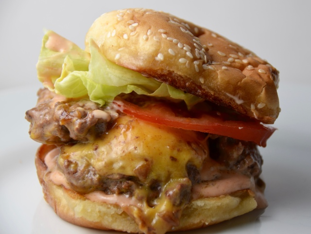 Double Double Animal Style Cheeseburger