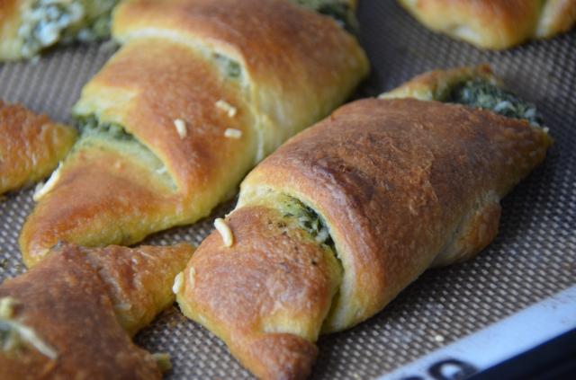 Pesto Crescents