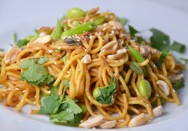 Spicy Pan-Fried Noodles