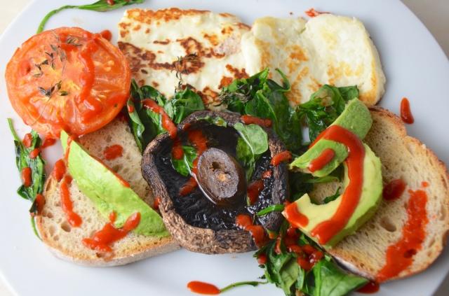 Halloumi Mixed Grill