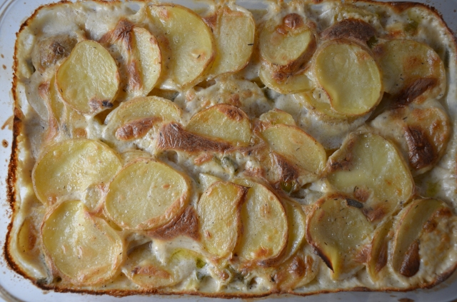 Scalloped Potatoes With Crème Fraîche