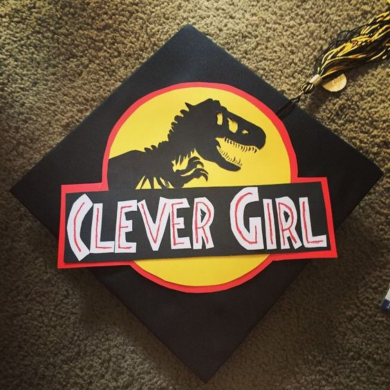 Graduation Cap Clever Girl